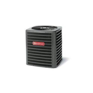 Goodman gsc130361 3 ton 13 seer dry r22 split air for Fan motor for goodman ac unit