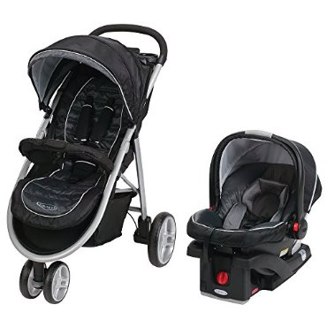 Graco Aire3 Click Connect Travel System, Gotham