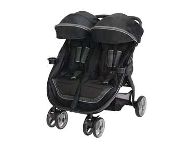 Graco FastAction Fold Duo Click Connect Stroller - Pierce (1914287)