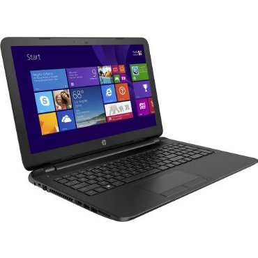 HP 15-f004dx 15.6 Laptop (AMD E1-2100 Processor, 4GB Memory, 500GB Hard Drive)
