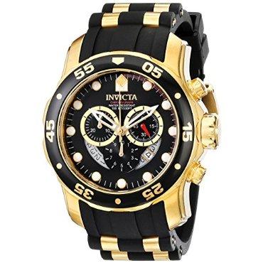 Invicta 6981 Pro Diver Collection Chronograph Black Dial Men's Watch