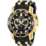 Invicta 6981 Pro Diver Collection Chronograph Black Dial Men's Watch