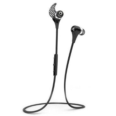 JayBird BlueBuds X Sport Bluetooth Headphones - Midnight Black