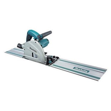 "Makita SP6000J1 6-1/2"" Plunge Circular Saw with Guide Rail"