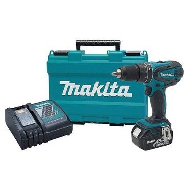 "Makita XPH012 18V LXT Lithium-Ion Cordless 1/2"" Hammer Driver-Drill Kit with One Battery"