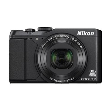 Nikon Coolpix S9900 Digital Camera with 30x Zoom, Wi-Fi, NFC, GPS (Black)