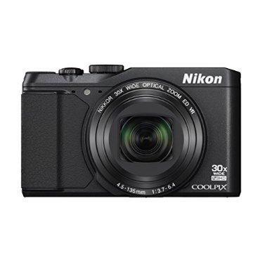 Nikon Coolpix S9900 Digital Camera with 30x Zoom, Wi-Fi, NFC, GPS (Black)
