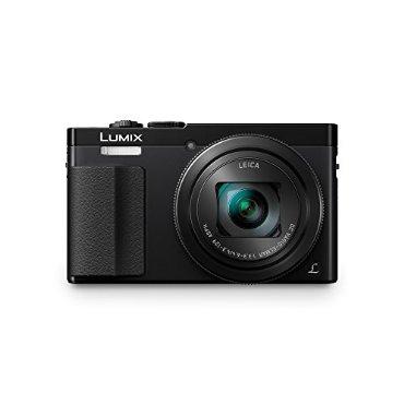 Panasonic Lumix DMC-ZS50 30X Travel Zoom Camera with Eye Viewfinder (Black)