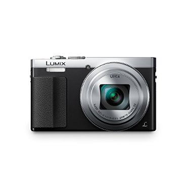Panasonic Lumix DMC-ZS50 30X Travel Zoom Camera with Eye Viewfinder (Silver, DMC-ZS50S)
