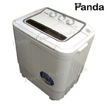 Panda XPB36 Portable Twin-Tub Washing Machine (6-7lbs Capacity) with Spin Dryer