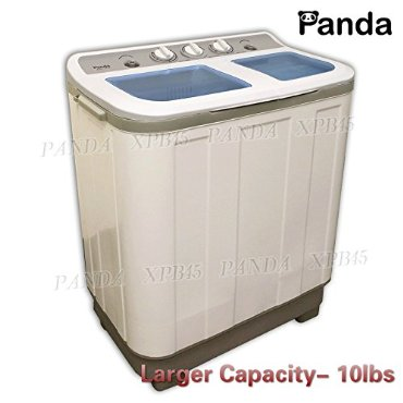 Panda XPB45 Small Compact Portable Washing Machine (10lb Capacity) and Dryer (6.6lb Capacity)