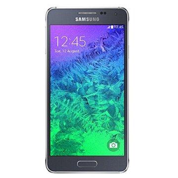 Samsung Galaxy Alpha G850a 32GB Unlocked GSM 4G LTE Quad-Core Smartphone (Charcoal Black)