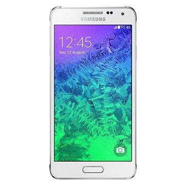 Samsung Galaxy Alpha G850a 32GB Unlocked GSM 4G LTE Quad-Core Smartphone (Dazzling White)