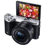 Samsung NX500 28MP Wireless Smart Compact System 4k UHD Camera with 16-50mm Power Zoom Lens (Black)