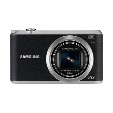 Samsung WB350F 16.3MP Digital Camera with 21x Zoom, Wi-Fi, NFC (Black, EC-WB350FBPBUS)