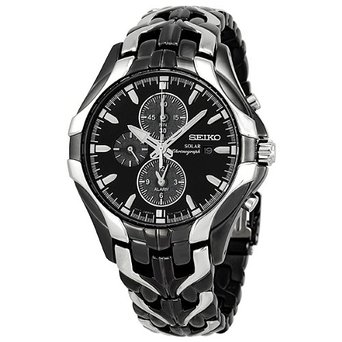 Seiko SSC139 Excelsior Chronograph Solar Stainless Steel Men's Watch
