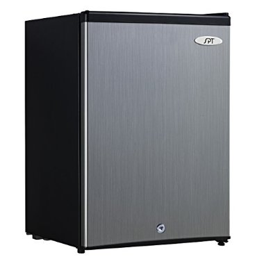 SPT UF-214SS Upright Freezer (2.1 Cubic Feet, Stainless Steel,  Energy Star)