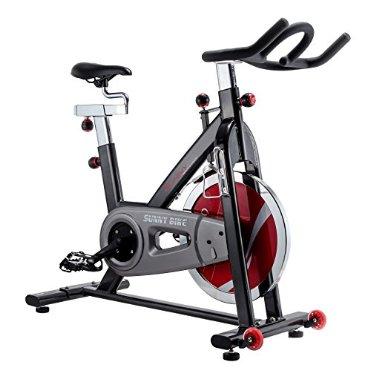 Sunny Health & Fitness Belt Drive Indoor Cycling Bike, Grey