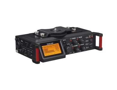 TASCAM DR-70D 4-Channel DSLR Audio Recorder