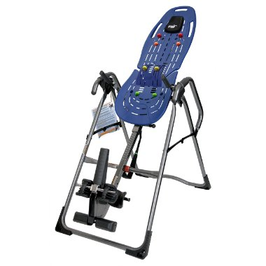 Teeter EP-960 Ltd Inversion Table with Back Pain Relief Kit featuring Lumbar Bridge and Acupressure Nodes