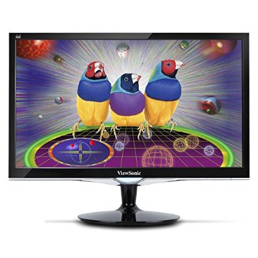 "ViewSonic VX2452MH 24"" LED LCD Monitor with Full HD 1080p, 2ms, Game Mode"