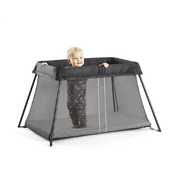 BabyBjorn Travel Crib Light (Black)