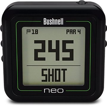 Bushnell NEO Ghost Golf GPS Rangefinder (Black)