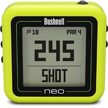 Bushnell NEO Ghost Golf GPS Rangefinder (Neon Green)