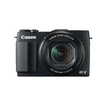 Canon PowerShot G1 X Mark II 12.8MP HD 1080p Digital Camera