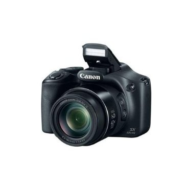 Canon Powershot SX520 HS 16MP Camera with 42x Zoom, 1080p Full HD (Black)