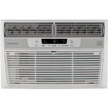 Frigidaire FFRE0833Q1 Energy Star 8,000 BTU 115V Window-Mounted Mini-Compact Air Conditioner w/ Temperature Sensing Remote Control