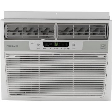 Frigidaire FFRE1033Q1 Energy Star 10,000 BTU 115V Window-Mounted Compact Air Conditioner w/ Temperature Sensing Remote Control