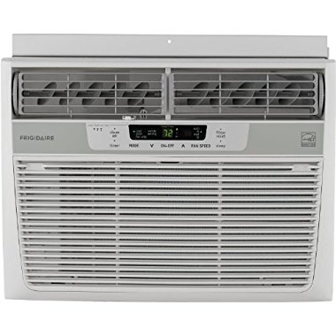 Frigidaire  FFRE1233Q1 Energy Star 12,000 BTU 115V Window-Mounted Compact Air Conditioner w/ Temperature Sensing Remote Control