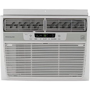 Frigidaire  FFRE1233Q1 Energy Star 12,000 BTU 115V Window-Mounted Compact Air Conditioner w/ Temperature Sensing Remote Control