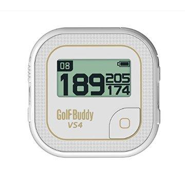 GolfBuddy VS4 Golf GPS (White/Gold)