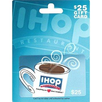 IHOP $25 Gift Card