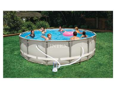 intex 14 x 42 ultra frame pool set