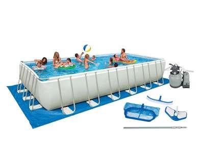 Intex 28375EH Ultra Frame 32x16 Pool Set