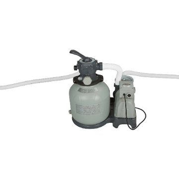 Intex 28647EG Krystal Clear Sand Filter Pump for Above Ground Pools (110-120 Volt with GFCI, 2800 Gallon)