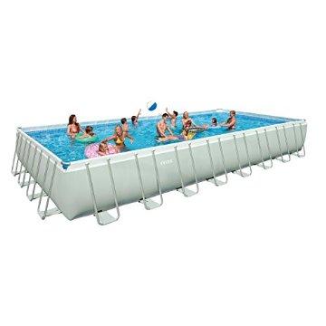 Intex 54989EG 32x16' x 52 Ultra Frame Rectangular Swimming Pool Set