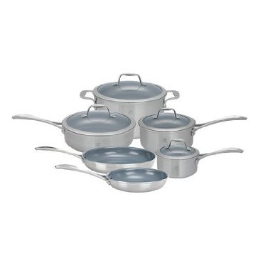 J.A. Henckels Spirit 10-Piece Cookware Set