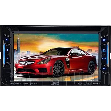 "JVC KW-V21BT 6.2"" Double DIN Multimedia Receiver"