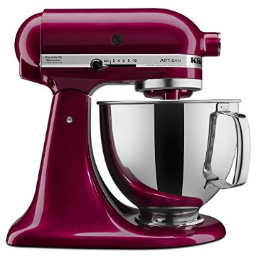KitchenAid KSM150PSBX Artisan Series 5-Qt. Mixer with Pouring Shield (Bordeaux)