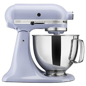KitchenAid KSM150PSLR Artisan Series  5qt. Mixer with Pouring Shield (Lavendar Cream)