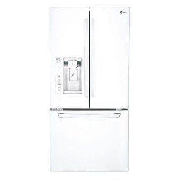LG LFXS24623W 24.0 Cu. Ft. French Door Refrigerator (White)