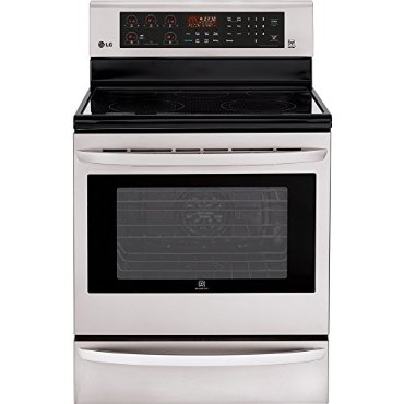 LG LRE3085ST 30 Electric Smoothtop Convection Range (Stainless Steel)