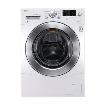 LG WM1377HW 2.3 Cu. Ft. Stackable Front Load Energy Star Washer (White)