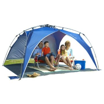 new product c8bce f9c6c Lightspeed Outdoors Quick Beach Canopy with Sidewall | Compare Prices, Set  Price Alerts, and Save with GoSale.com