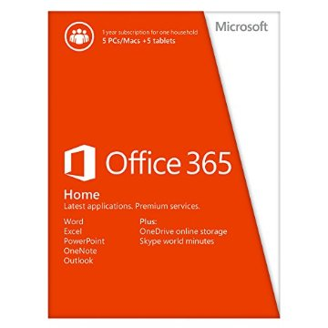 Office 365 Home (for up to 5 PCs or Macs)