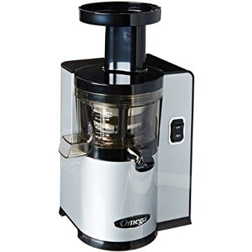 Omega VSJ843QS Vert Slow Juicer (Square Version, Silver)